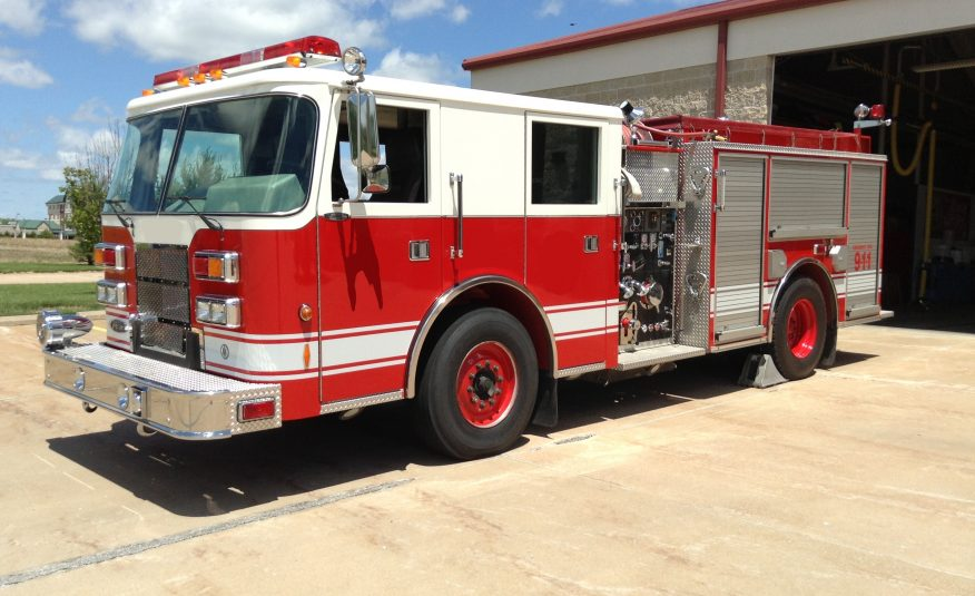 2002 Pierce Contender Pumper #1184