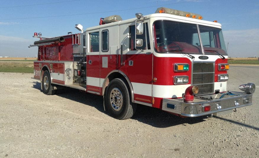 1993 Pierce Lance Pumper #1172