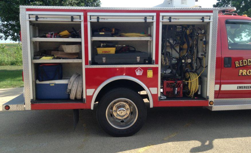 1999 F-450 Alexis Rescue Brush Truck # 71671