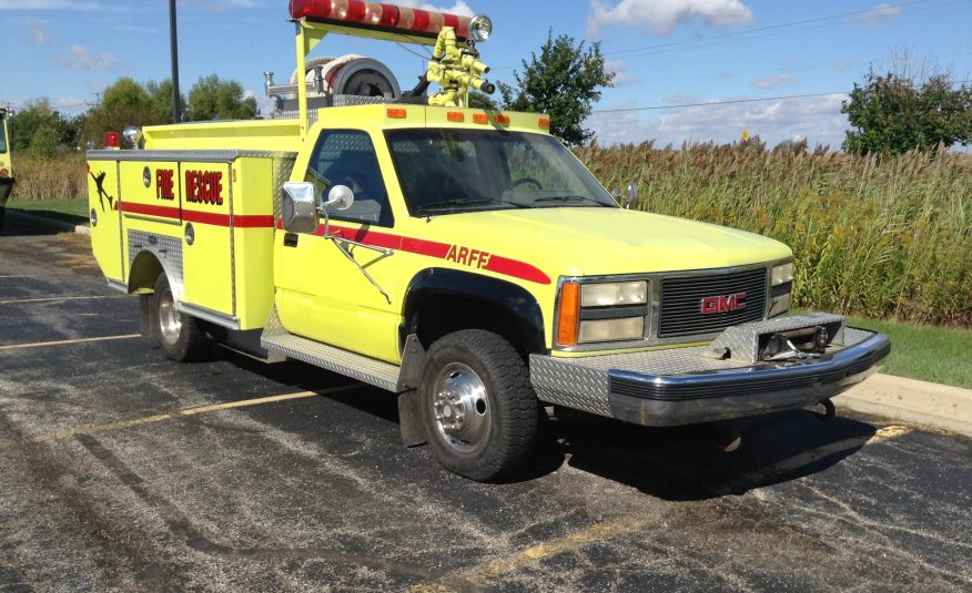 1992 Chevy E-One ARFF Mini Pumper #71681