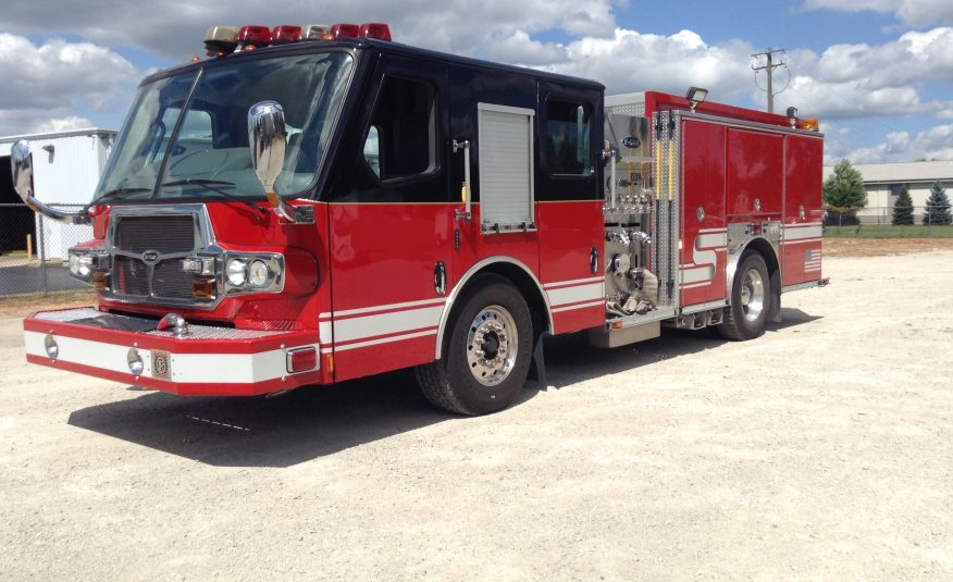 2008 E-One Pumper Rescue #71696