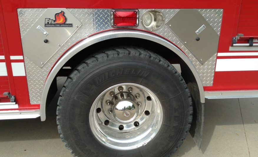 2008 IH 4×4 Pumper Brush Truck Tanker #716111