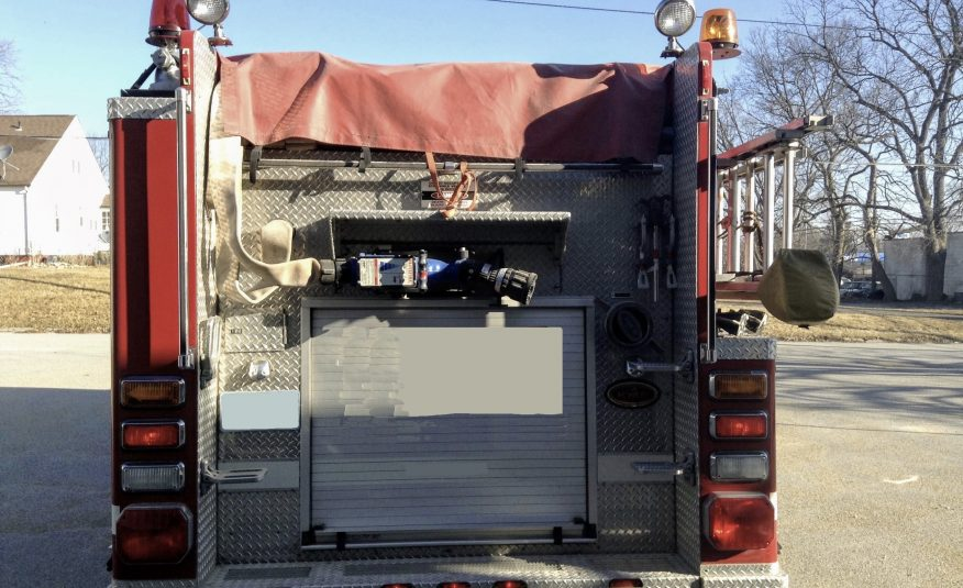 2001 IH KME Pumper #716200