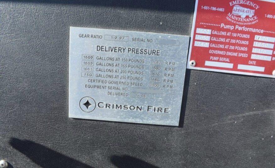 2006 International Crimson Pumper #716226