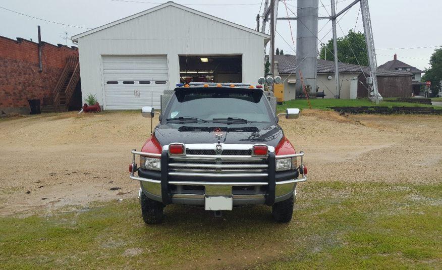 1996 dodge 3500 4×4 Brush Truck #71699